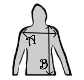 Sure Women Hoodie Longsleeve Shirt - Measurements