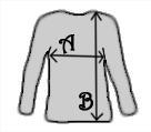Sure Women Longsleeve Shirt - Measurements