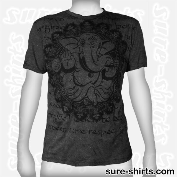 Ganesha Relaxed - Black Tee size L