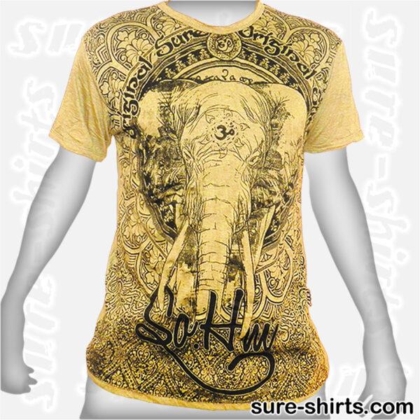 Elephant - Yellow Tee size L