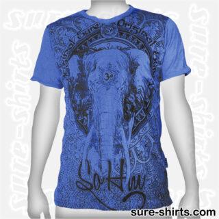 Elephant - Blue Tee size M