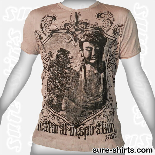 Amida Buddha - Beige Tee size M