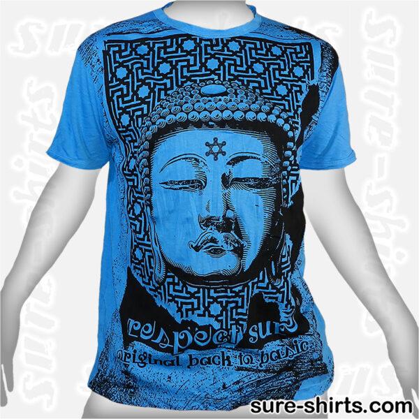 Great Buddha - Blue Tee size L