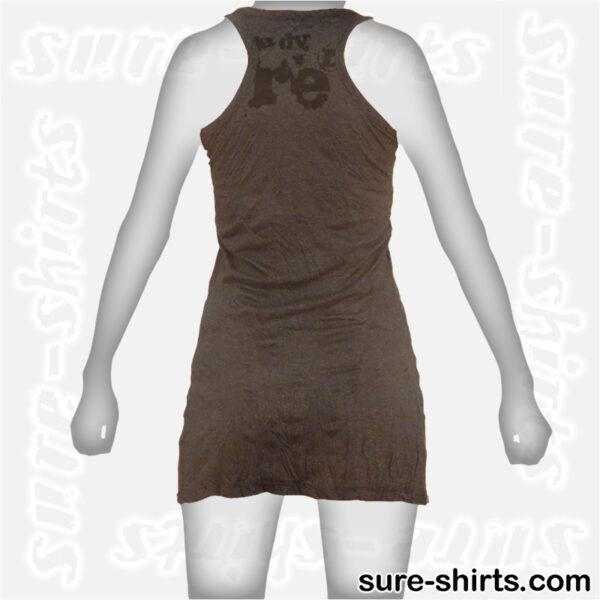 Great Buddha - Black Women Tank Dress / Sundress