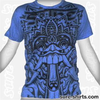 Barong - Blue Tee size M