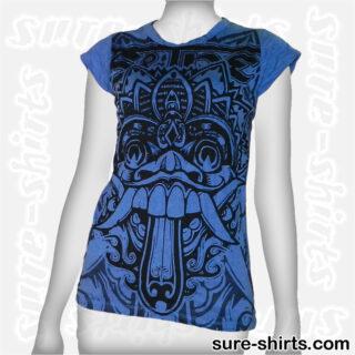 Barong - Blue Women Tee