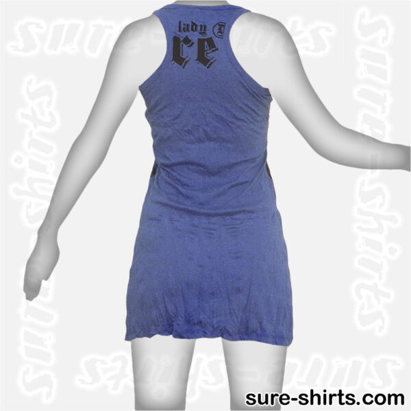 Great Buddhas - Blue Women Tank Dress / Sundress