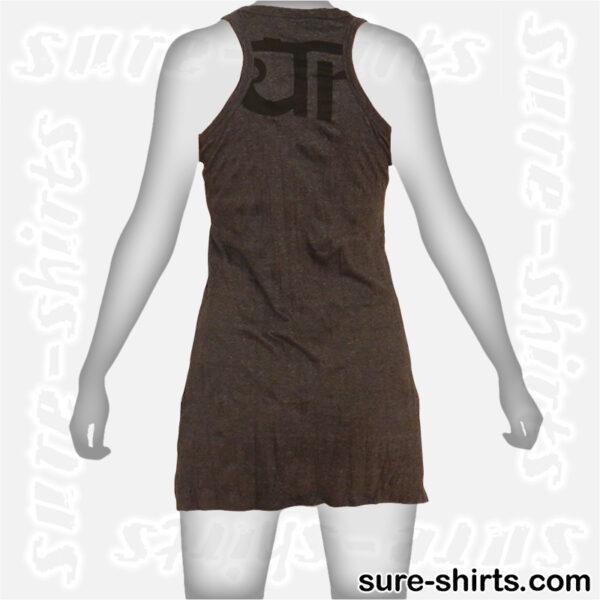 Wise Ganesha - Black Women Tank Dress / Sundress