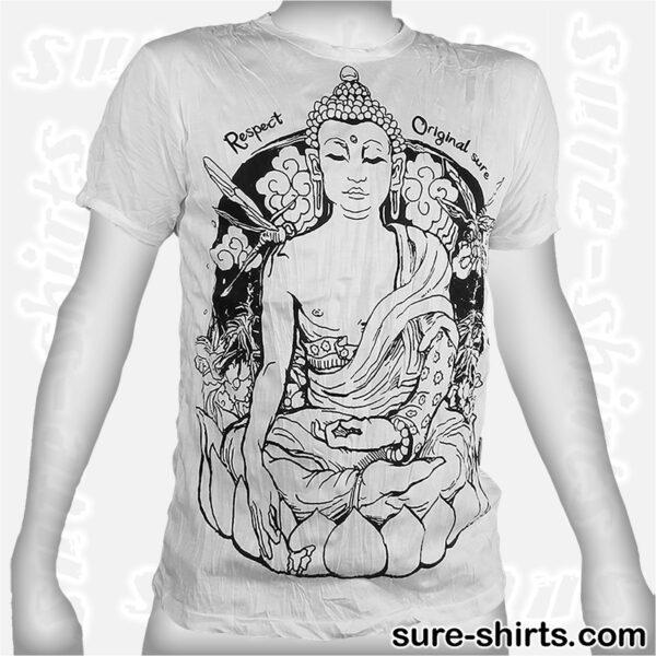 Siddhartha Gautama - White Tee size M