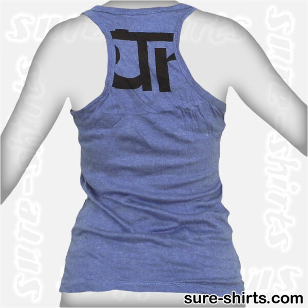 Ganesha Profile - Blue Women Tank Top / Singlet
