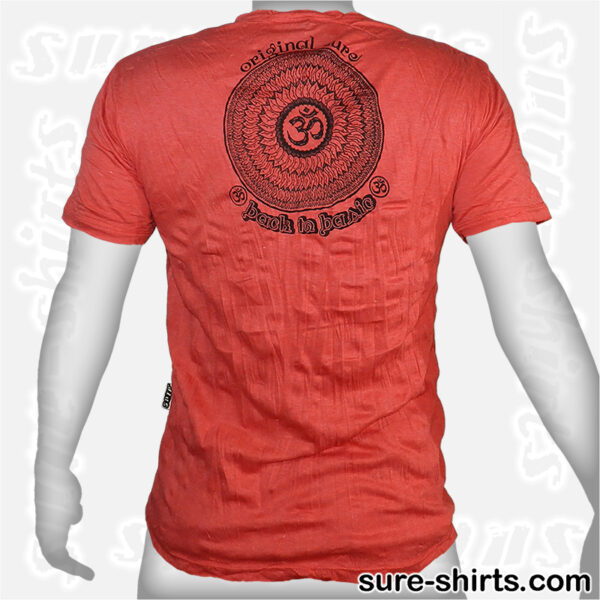 Lotus Blossoms - Red Tee size M
