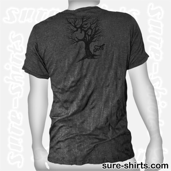 Om Tree Sketch - Black Tee size M