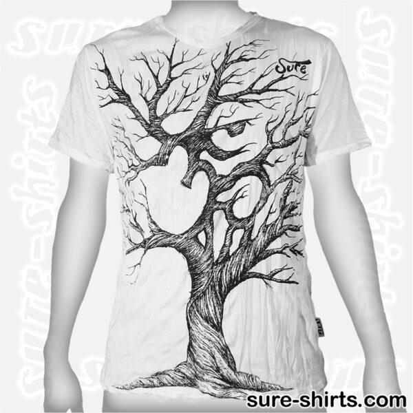 Om Tree Sketch - White Tee size M