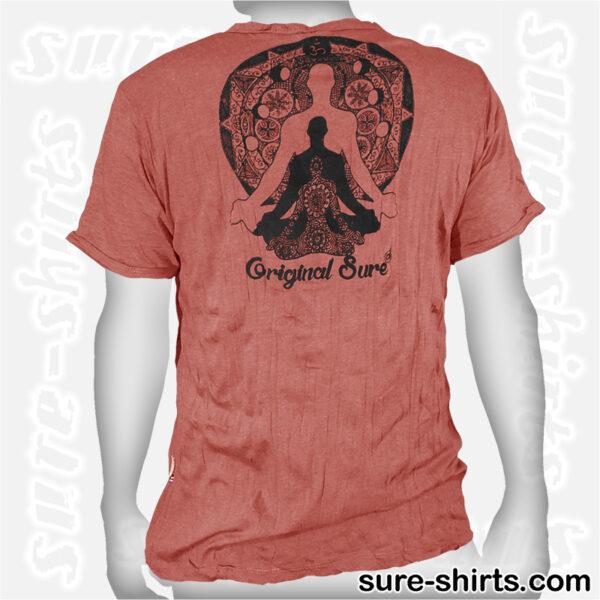Buddha Trinity - Brown-Red Tee size M