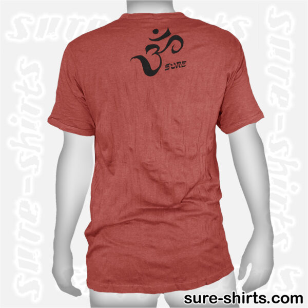 Root Chakra Tree - Brown-Red Tee size L