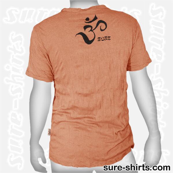 Root Chakra Tree - Orange Tee size M