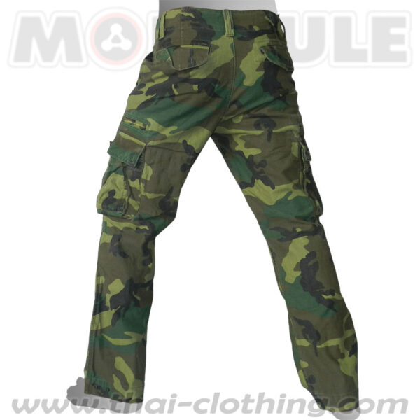 Molecule Military Pants Combat Woodland Camo