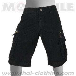 Cruiser Molecule Shorts Black Cargo Pants