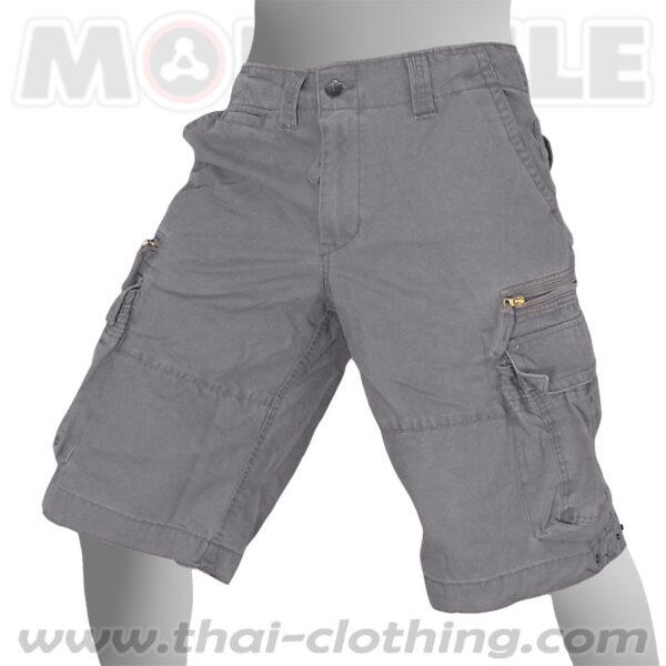 Molecule Pants Cruiser Grey Cargo Shorts