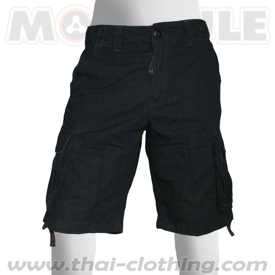 Molecule Pants Explorer Black Cargo Shorts