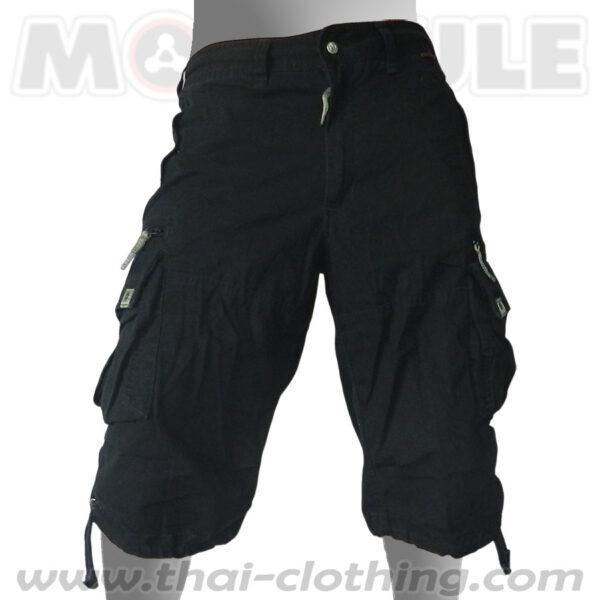 Globetrotter Molecule 3/4 Pants Black Cargo