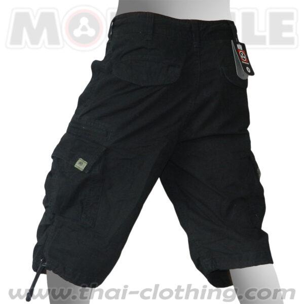 Molecule Pants Globetrotter Black 3/4 length
