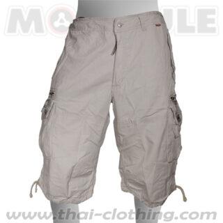 Globetrotter Molecule 3/4 Pants Khaki Cream Cargo