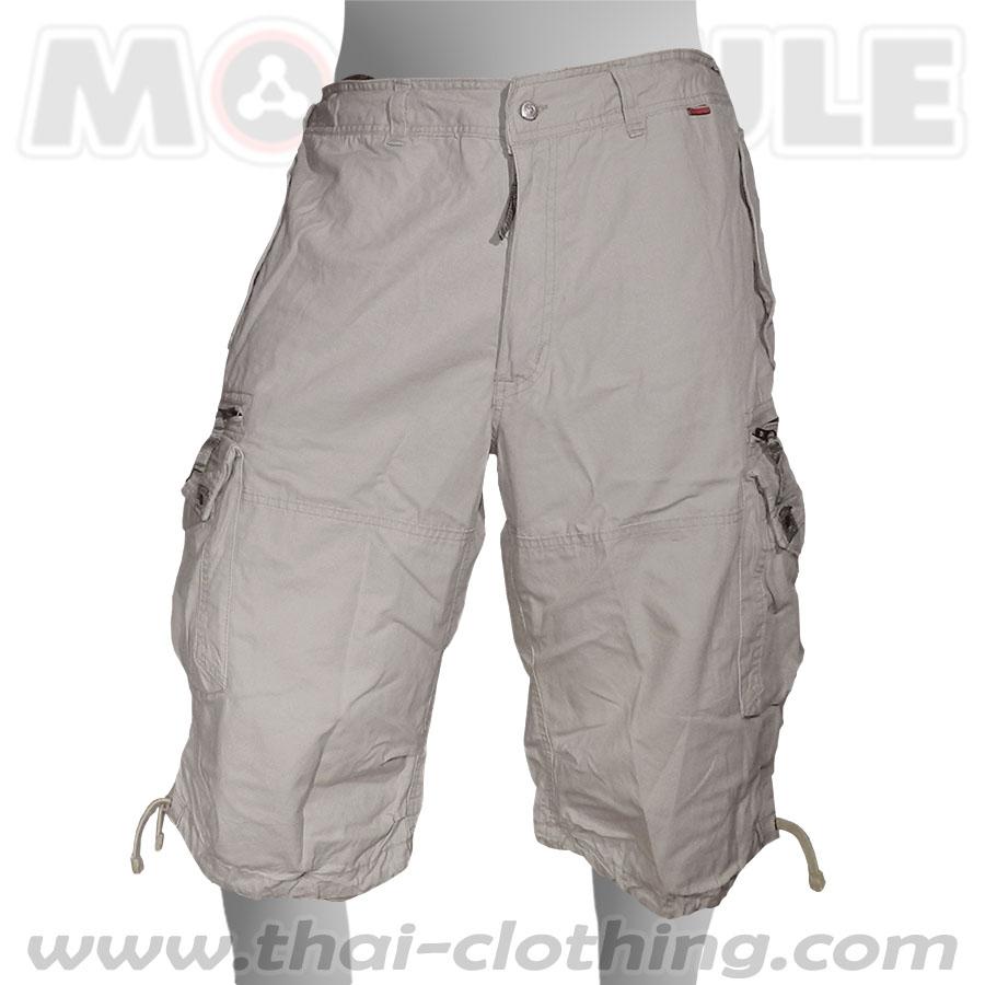 Globetrotter Molecule 3/4 Pants Beige Cream Cargo