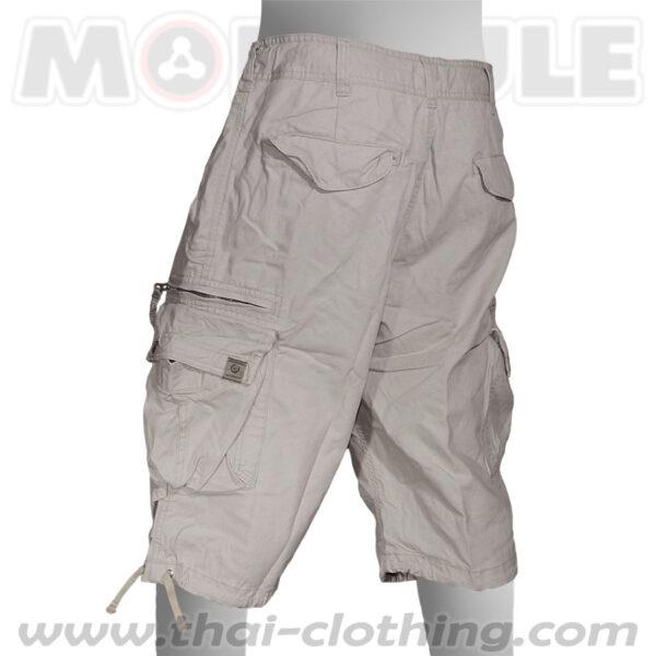 Molecule Pants Globetrotter Khaki Cream 3/4 length