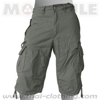 Globetrotter Molecule 3/4 Pants Green Cargo