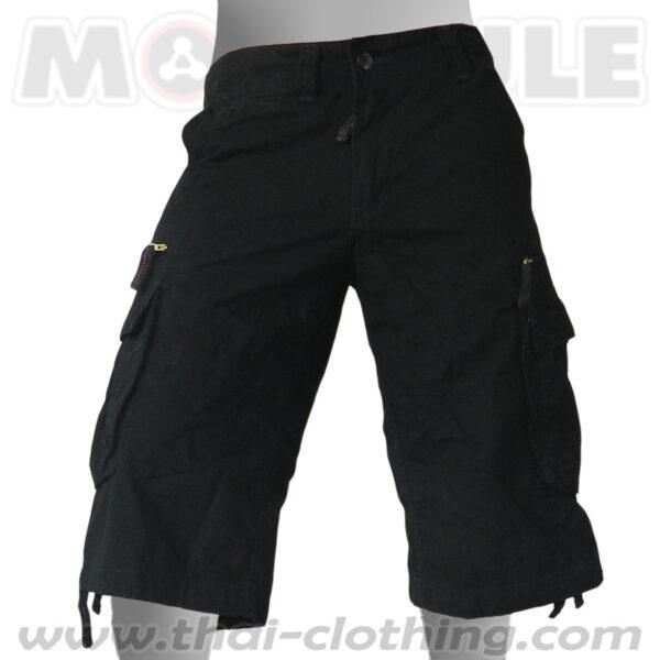 Travelstar Molecule 3/4 Pants Black Cargo