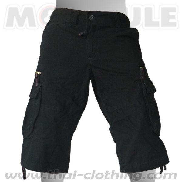 Molecule Pants Travelstar Black 3/4 length
