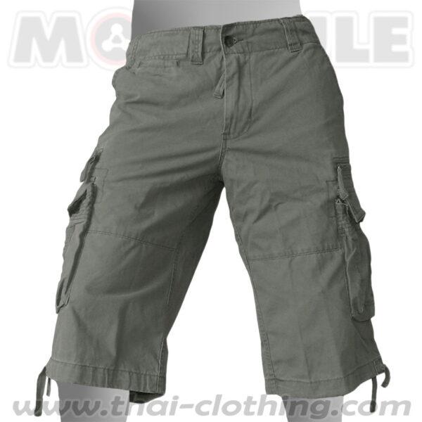 Travelstar Molecule 3/4 Pants Green Cargo