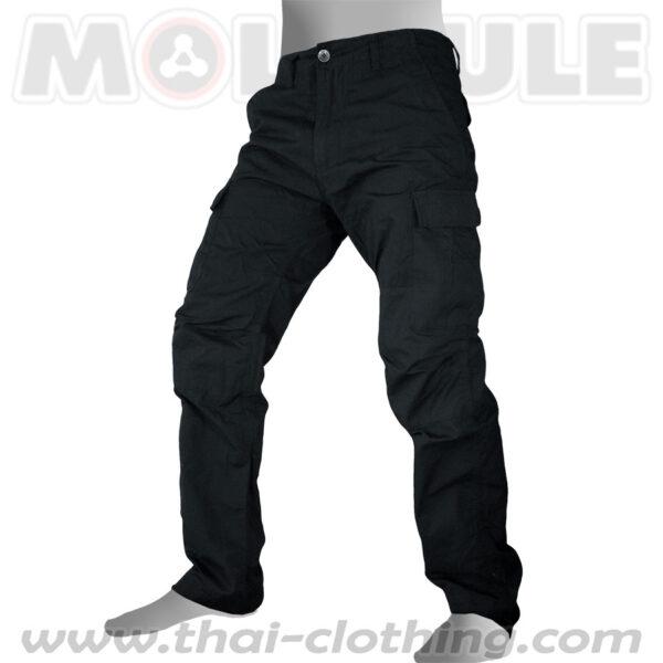 Molecule Pants Voyager Black Ripstop Cargo Pants