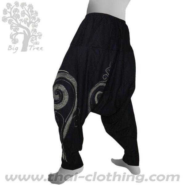 Black Aladdin Pants - BIG TREE