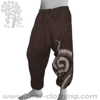 Dark Brown Baggy Pants - BIG TREE