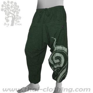 Dark Green Baggy Pants - BIG TREE