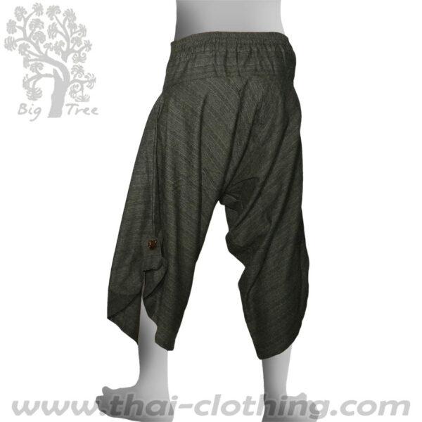 Green Grey Samurai Pants - BIG TREE
