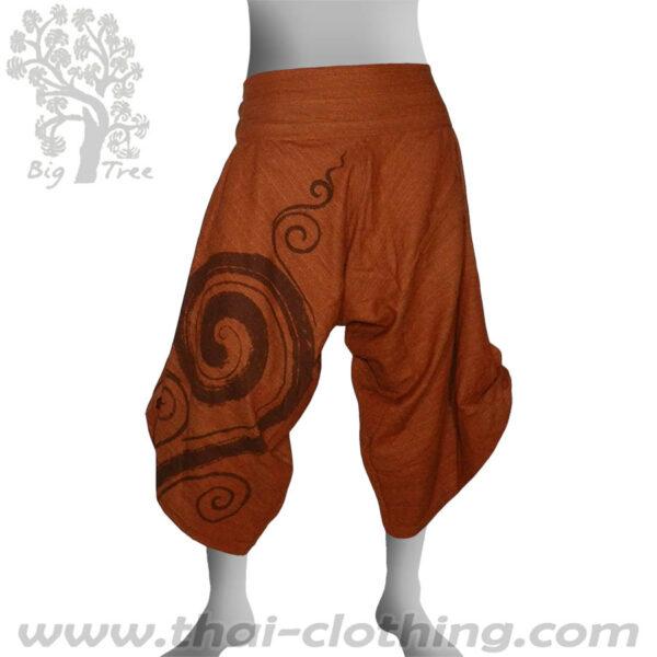 Earth Brown Samurai Pants - BIG TREE