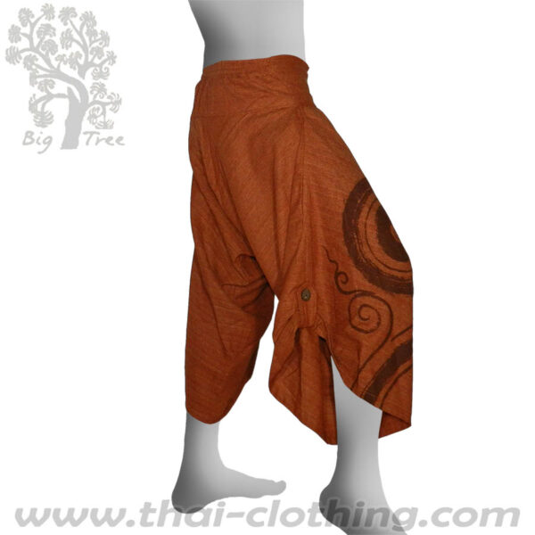 Red Brown Samurai Pants - BIG TREE