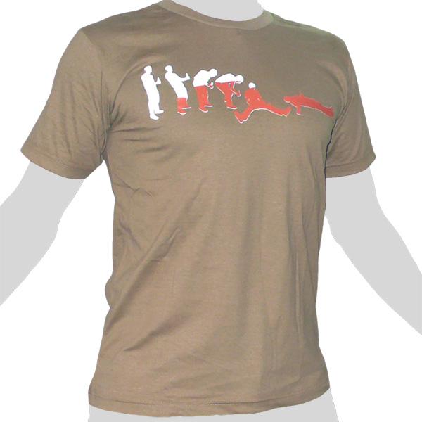 Rocky T-Shirt states of being drunk drinking evolution