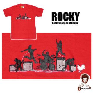 Rock Band Live Show - Rocky Shirts Thailand