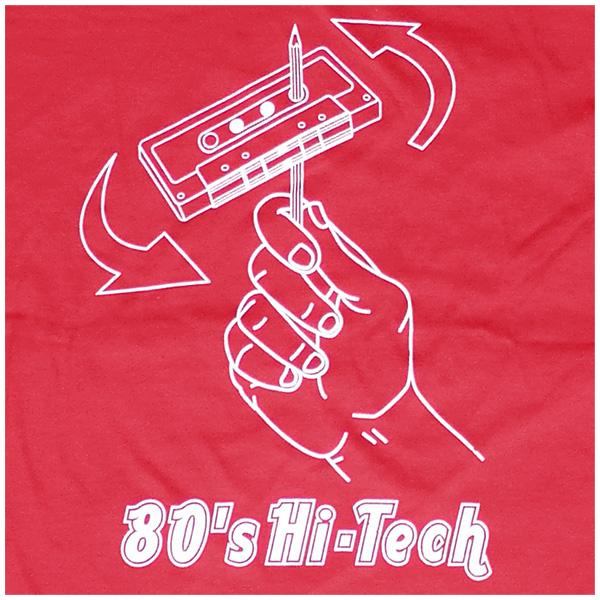 80s High-Tech - red ROCKY T Shirt