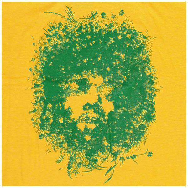 Jimi Hendrix Flower Head - Rocky Shirts Thailand