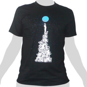 Reaching for Planet Earth - Rocky Shirts Thailand