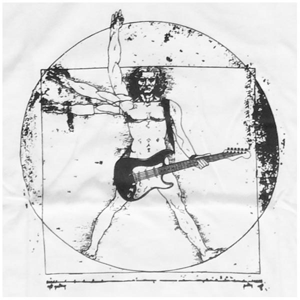 Da Vinci Rocking Vitruvian Man