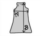 Sure Women tank dress / sundress - Measurements